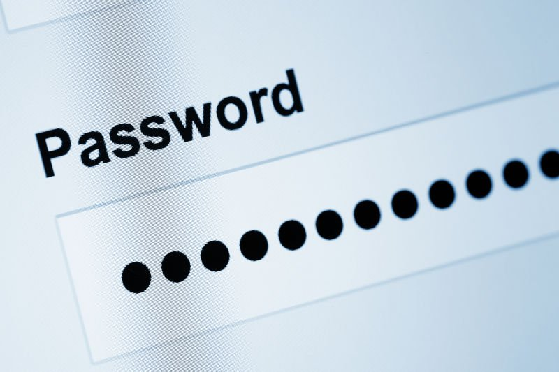 strong password being enforced in small business
