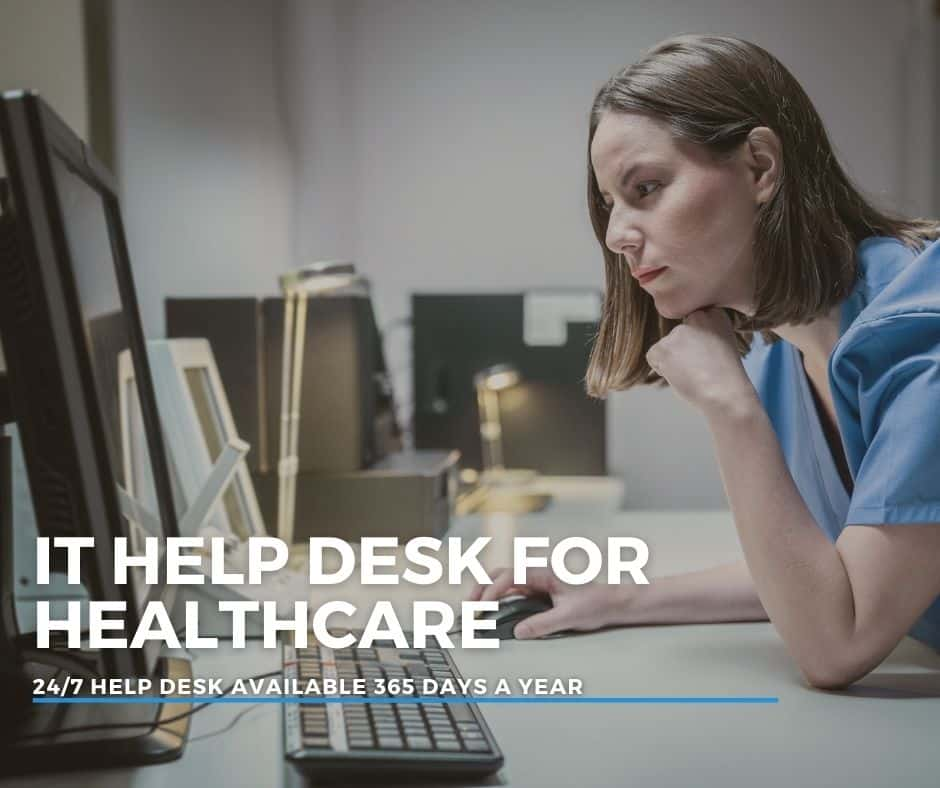 it help desk for healthcare